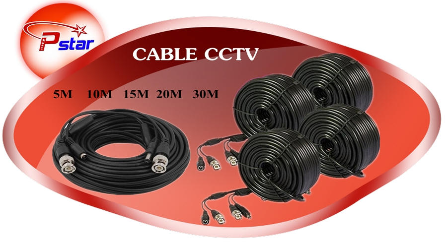 CABLE CCTV 5M