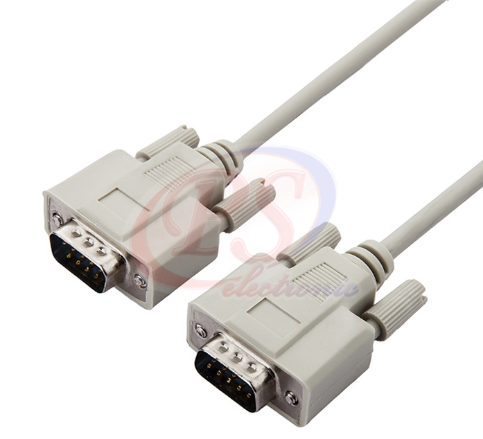 CABLE DB9 M/M 10M