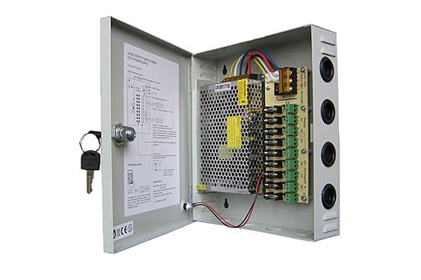 POWER SUPPLY 12V 10A 9PORT