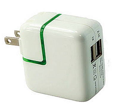ADAPTER USB 5V 2PORT