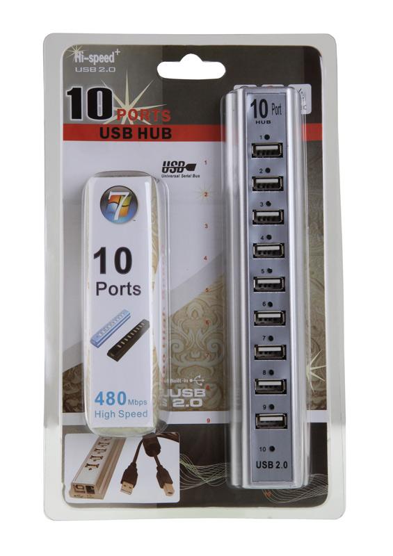 USB HUB 10PORT