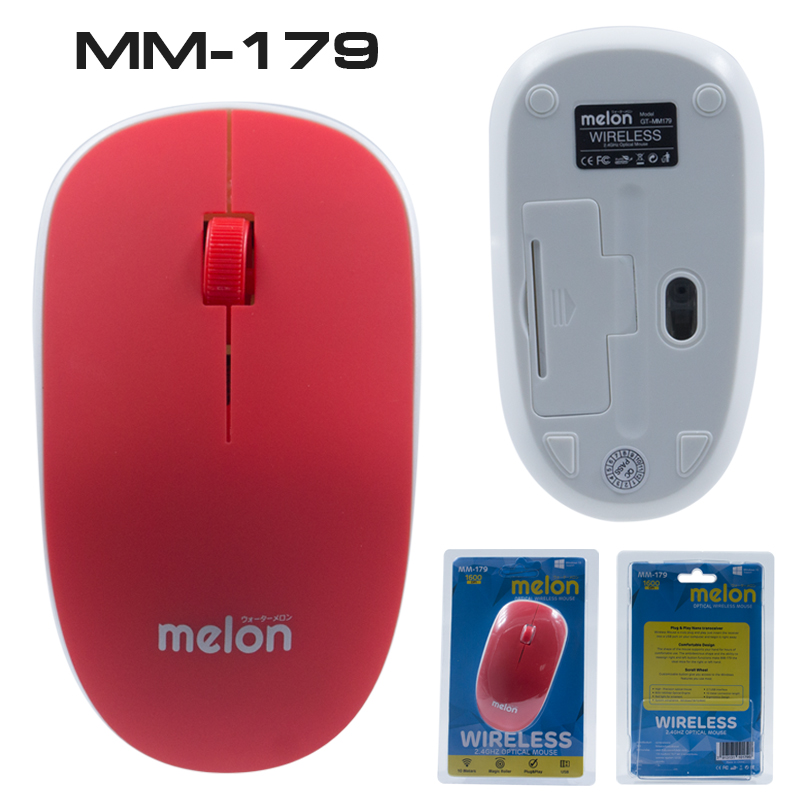 OPTICAL WIRELESS MOUSE MM179