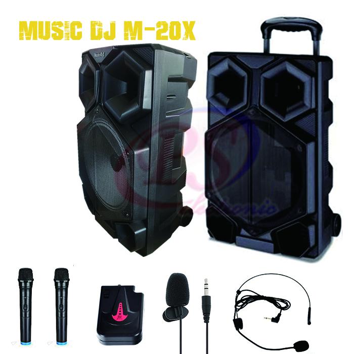 ลำโพงบลูทูธ Music dj M20X 15นิ้ว