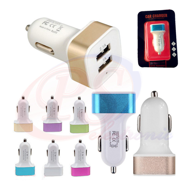 CAR CHARGER USB 2PORT PS002